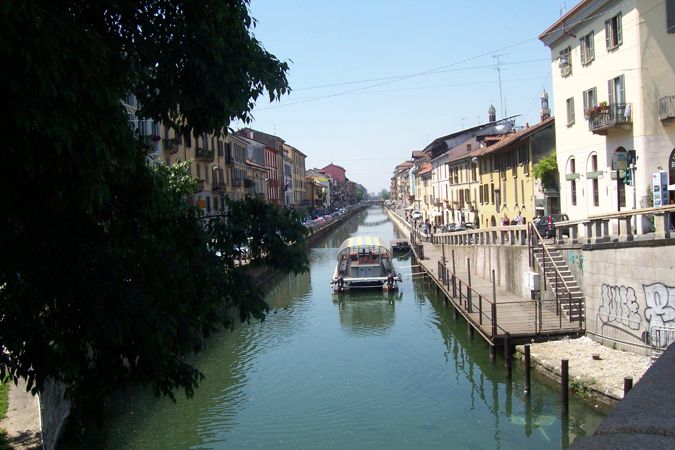 Milan capitale d un nord culturel et epicentre de la for Il naviglio grande ristorante