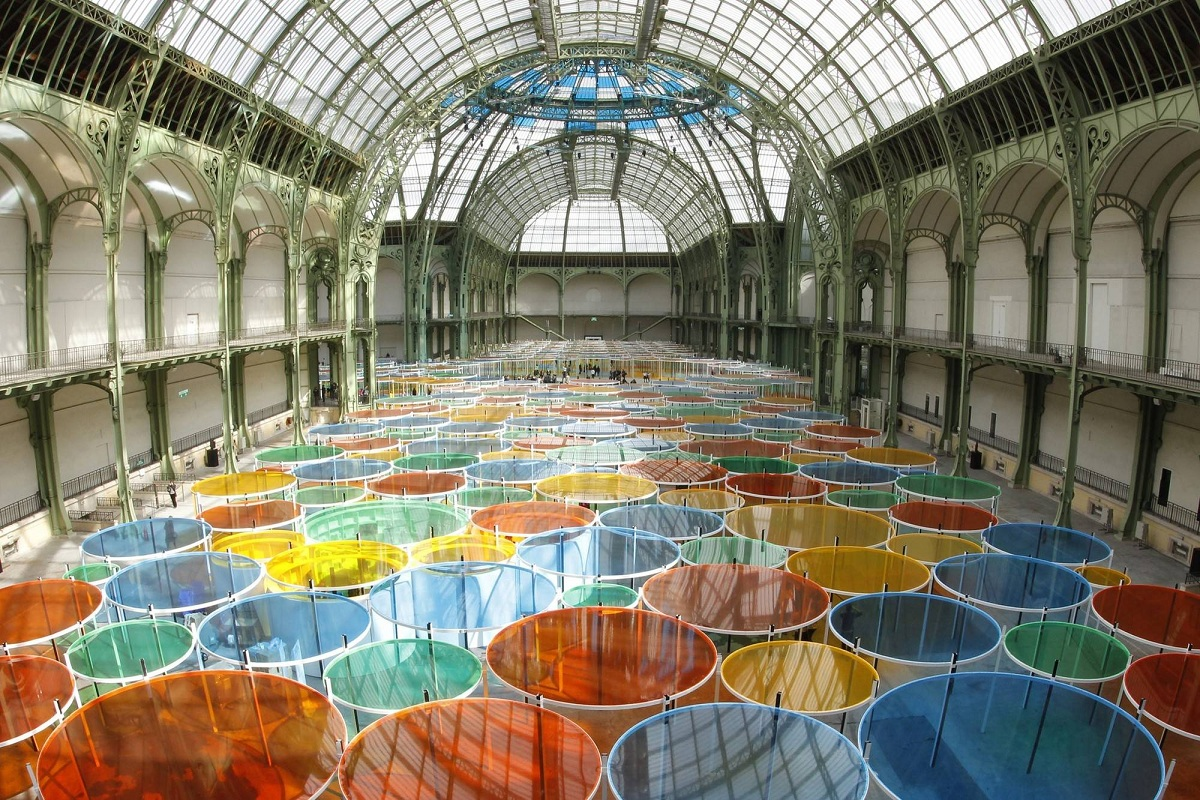 Irresistibleparis colourful buren monumenta 2012 - Exposition paris grand palais ...