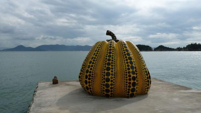 Art contemporain au japon sur l le de naoshima inferno for Art contemporain sculpture