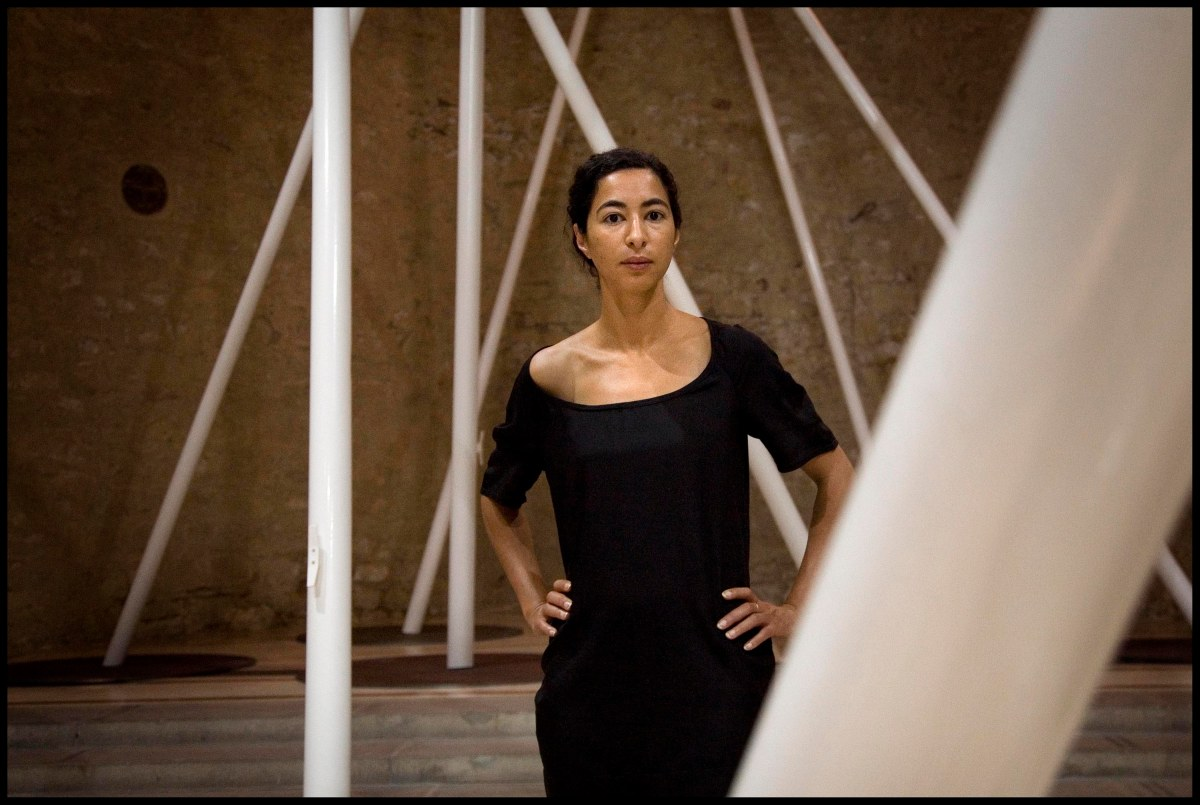 "LATIFA ECHAKHCH : ""LAPS"", MUSEE D'ART CONTEMPORAIN DE LYON"