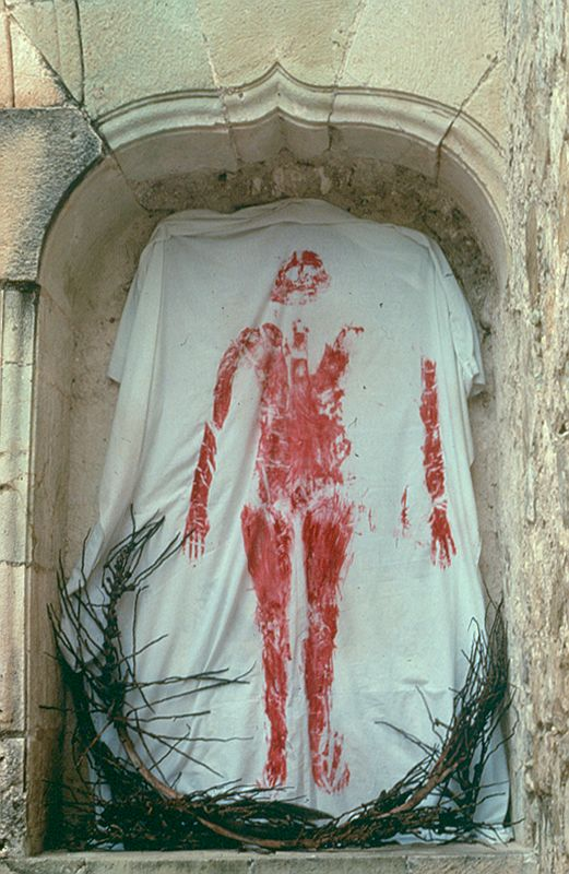 ana mendieta a rivoli  Ana Mendieta, Untitled from Silueta Works in Mexico, 1976-1981