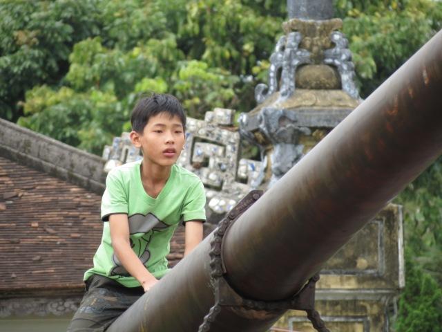 enfant sur tank US