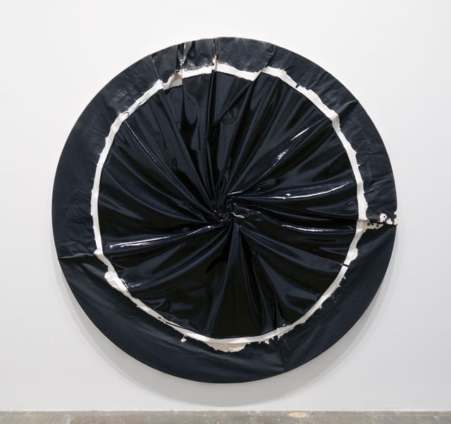 Process Cult, 2004. Enamel on canvas, diameter 84 in