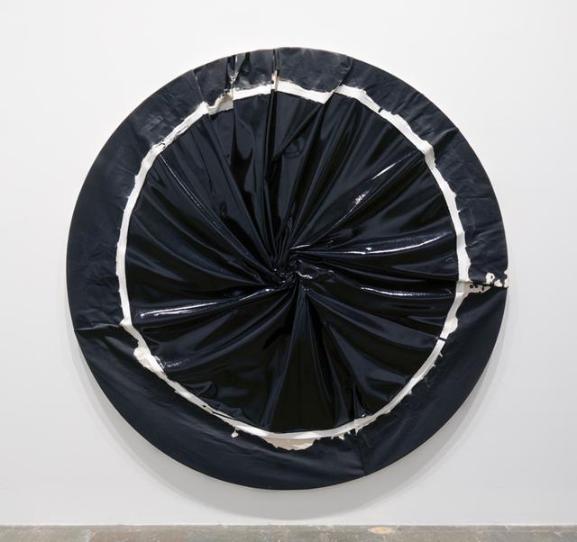 Process Cult, 2004. Enamel on canvas, diameter 84 in