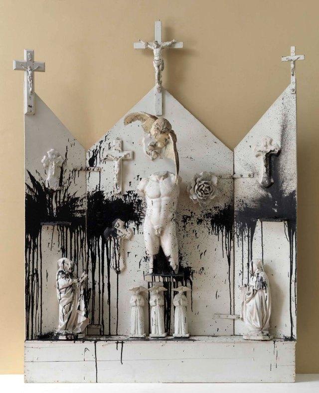 06) autel noir et blanc