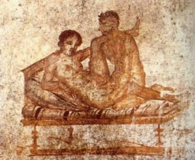 Секс в Древнем Риме не подразумевал под собой наличие каких-либо отношений
