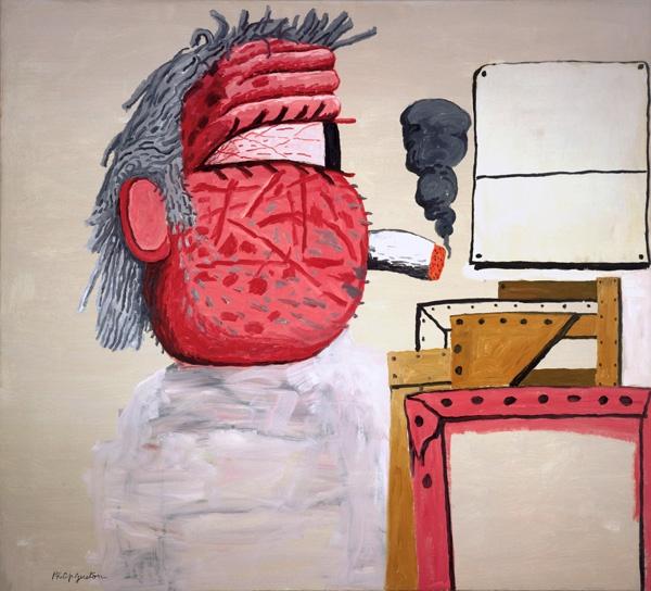 7-Schirn_Presse_Philip_Guston_Painters_Head_1975