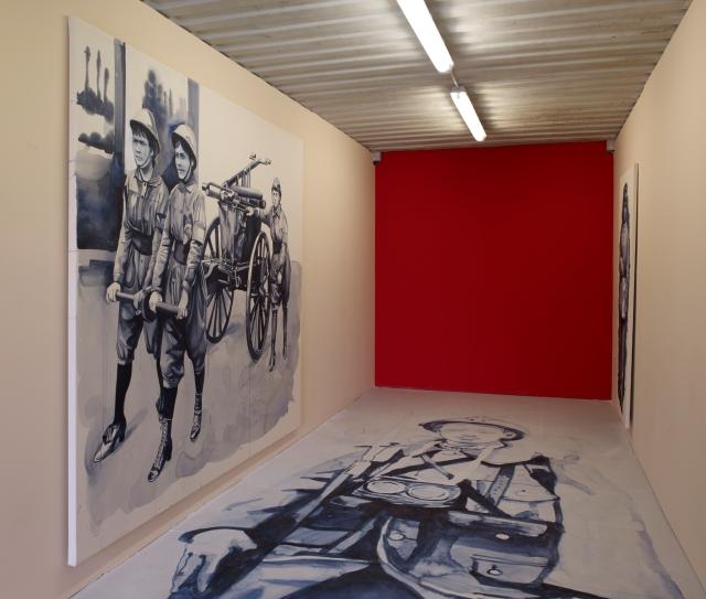 LIGNE DE FRONT, GIULIA ANDRANI, VESTEM MUTO (DETAIL), PRODUCTION ARTOIS COMM_LAB-LABANQUE, PHOTO MARC DOMAGE, 2014