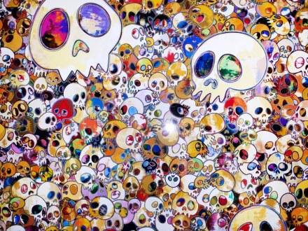 Murakami  Hommage-To-Yves-Klein-