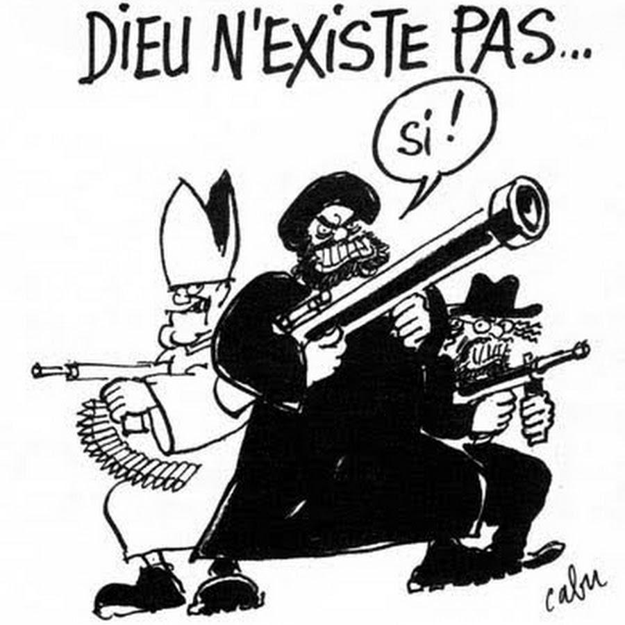 On A Tue Charlie Hebdo Non C Est Dieu Qui Est Mort Inferno