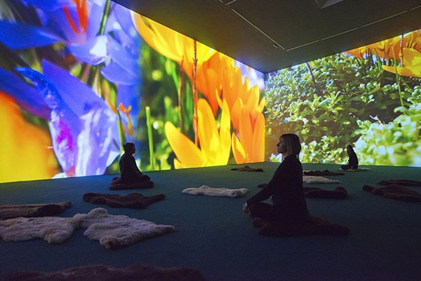 Pipilotti Rist : U201cStay Stamina Stayu201d / Hauser U0026 Wirth Somerset, Bruton (GB)  / Until February 22, 2015.