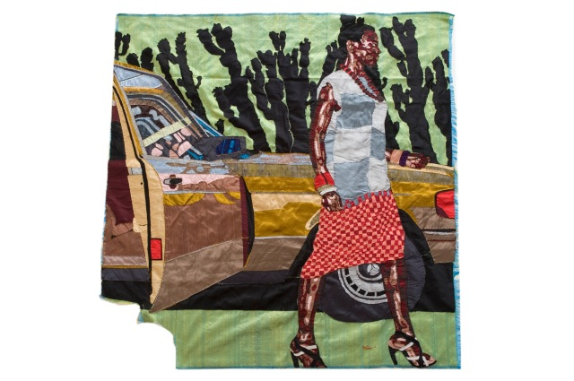 billie_zangewa_the_future_waits_for_no_one_silk_tapestry_111x107_cm_2011