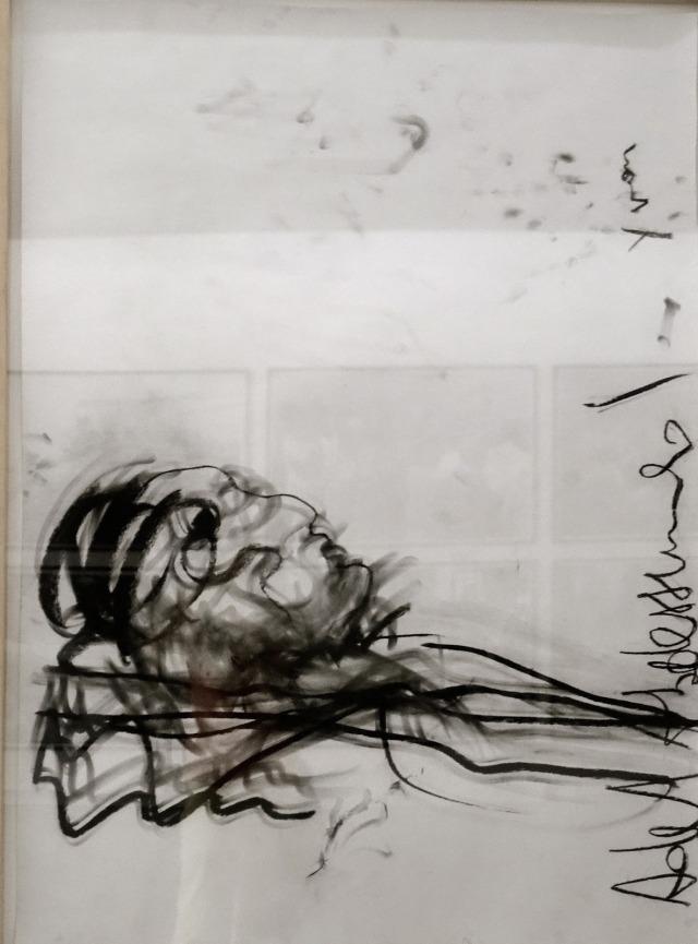 Adel Abdessemed gisant