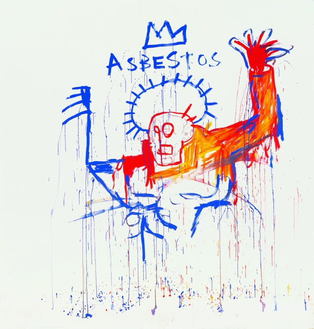 Jean-Michel Basquiat Asbestos 1981-1982