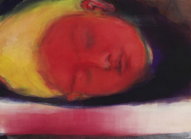 LI_Floating Face_2009_ 80x110cm