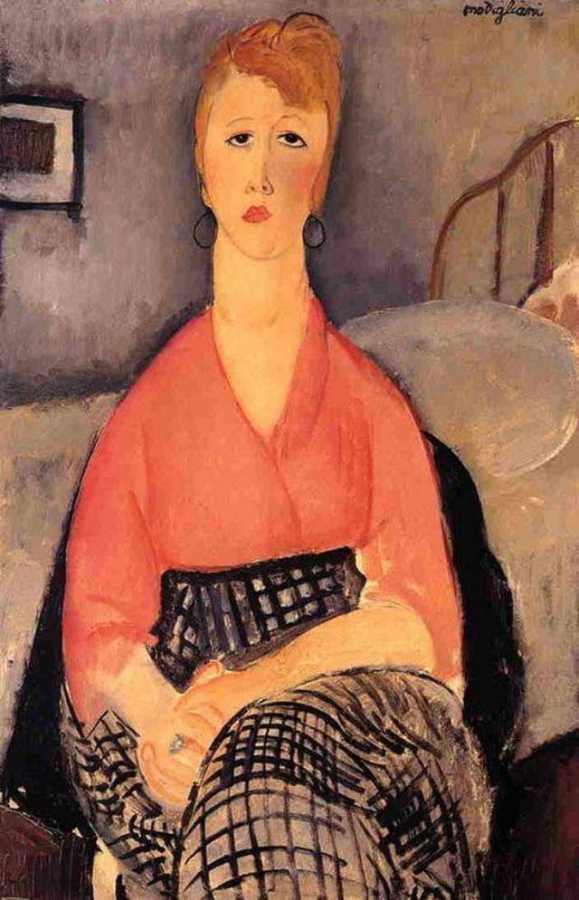 modigliani la blouse rose 1919