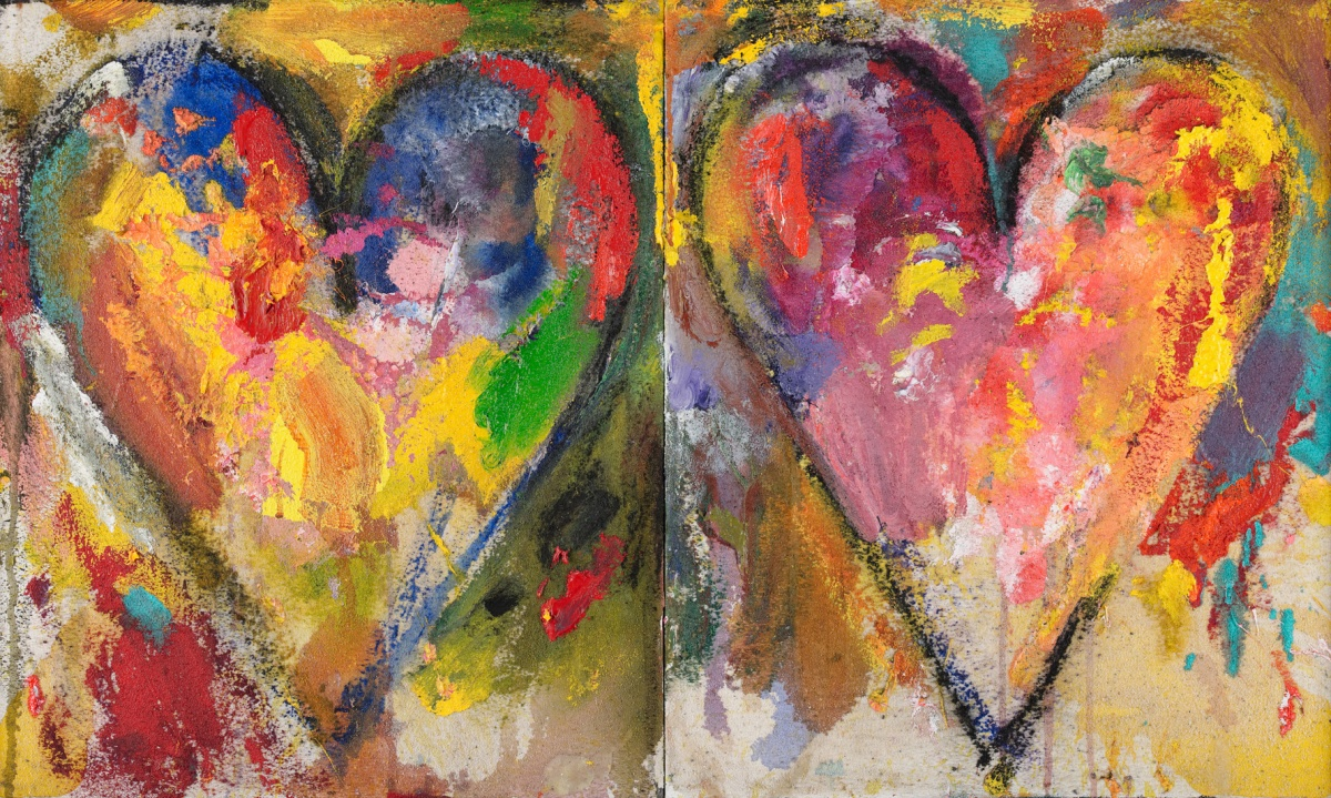 "JIM DINE, ""MONTROUGE PAINTINGS"", DANIEL TEMPLON PARIS"