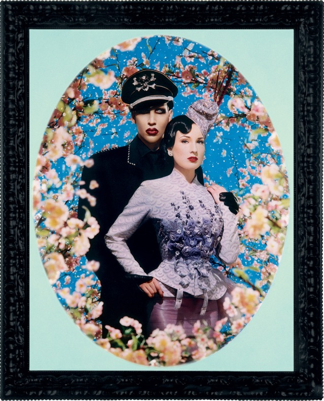 le-grand-amour-marilyn-manson-et-dita-von-teese-pinault-collection-c-pierre-et-gilles-courtesy-no